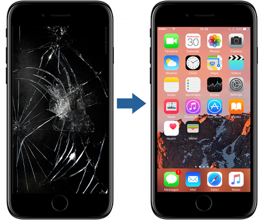 Bytte Skjerm Iphone 7 Pris
